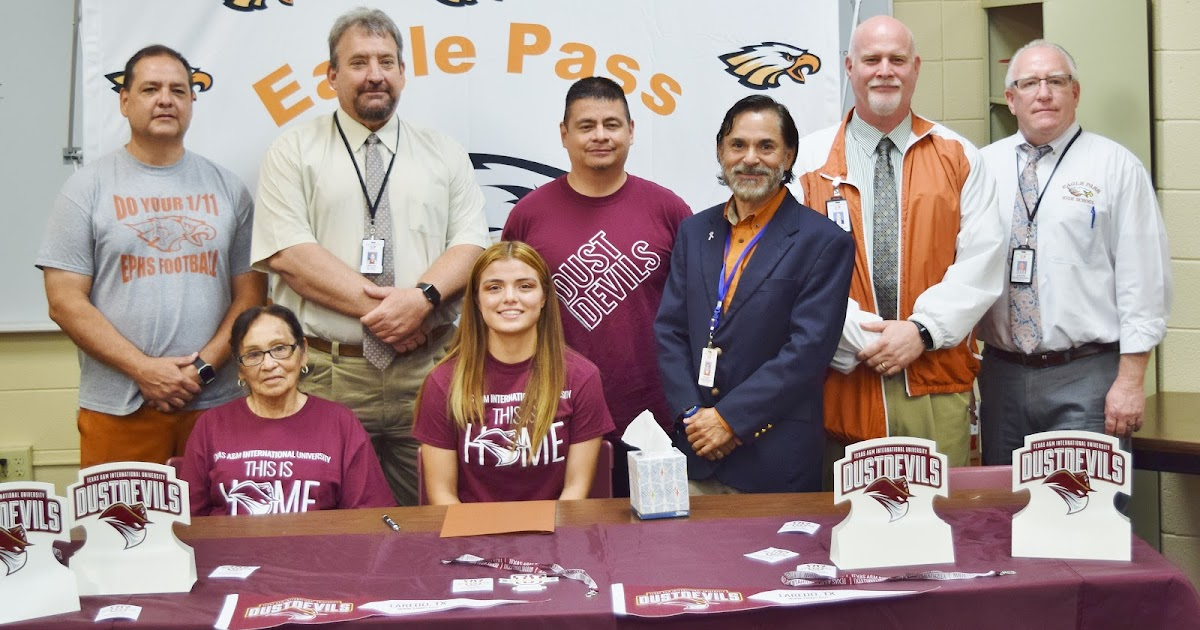 Eagle Pass Isd Ivision Ephs Lady Eagle Soccer Player