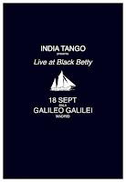 Concierto de India Tango en Galileo Galilei