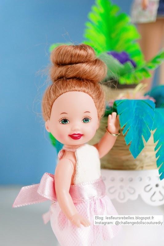 Portrait Elsa devant palmier