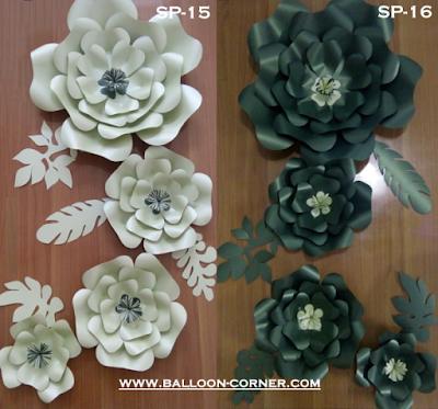 Paper Flower / Bunga Kertas (Paket SP-15 & Paket SP-16)