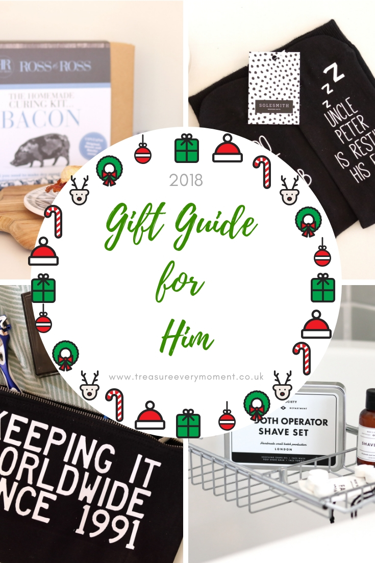 CHRISTMAS GIFT GUIDE: For Him 2018