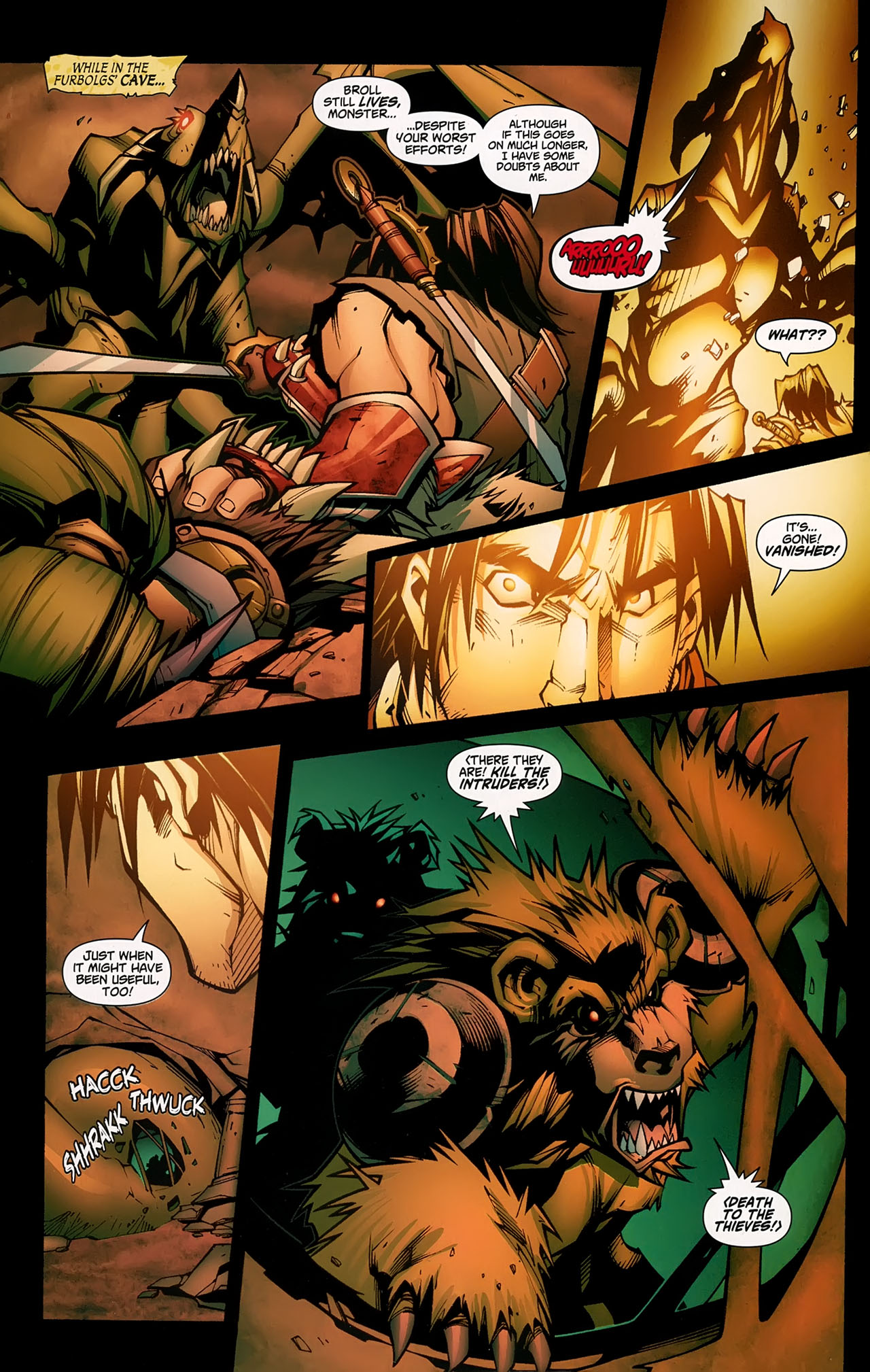 Read online World of Warcraft comic -  Issue #5 - 22
