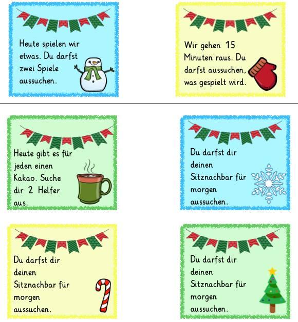 """18. Türchen: Soziale Gutscheine Thema """"Winter"""""""