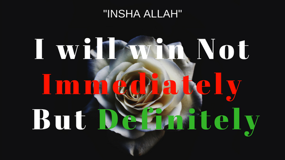 i will win not immediately but definitely - alamin hossain