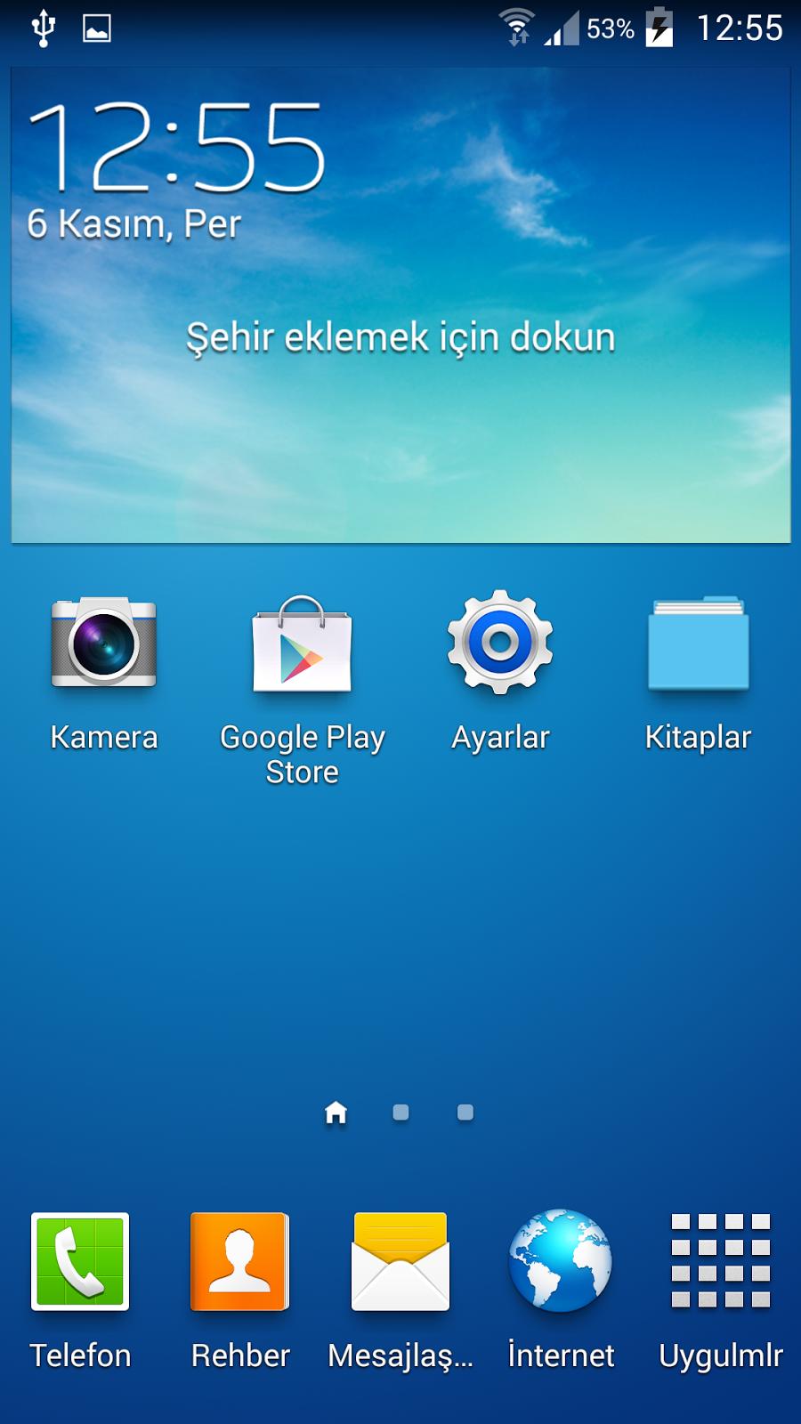 Android Klasör Kısayol