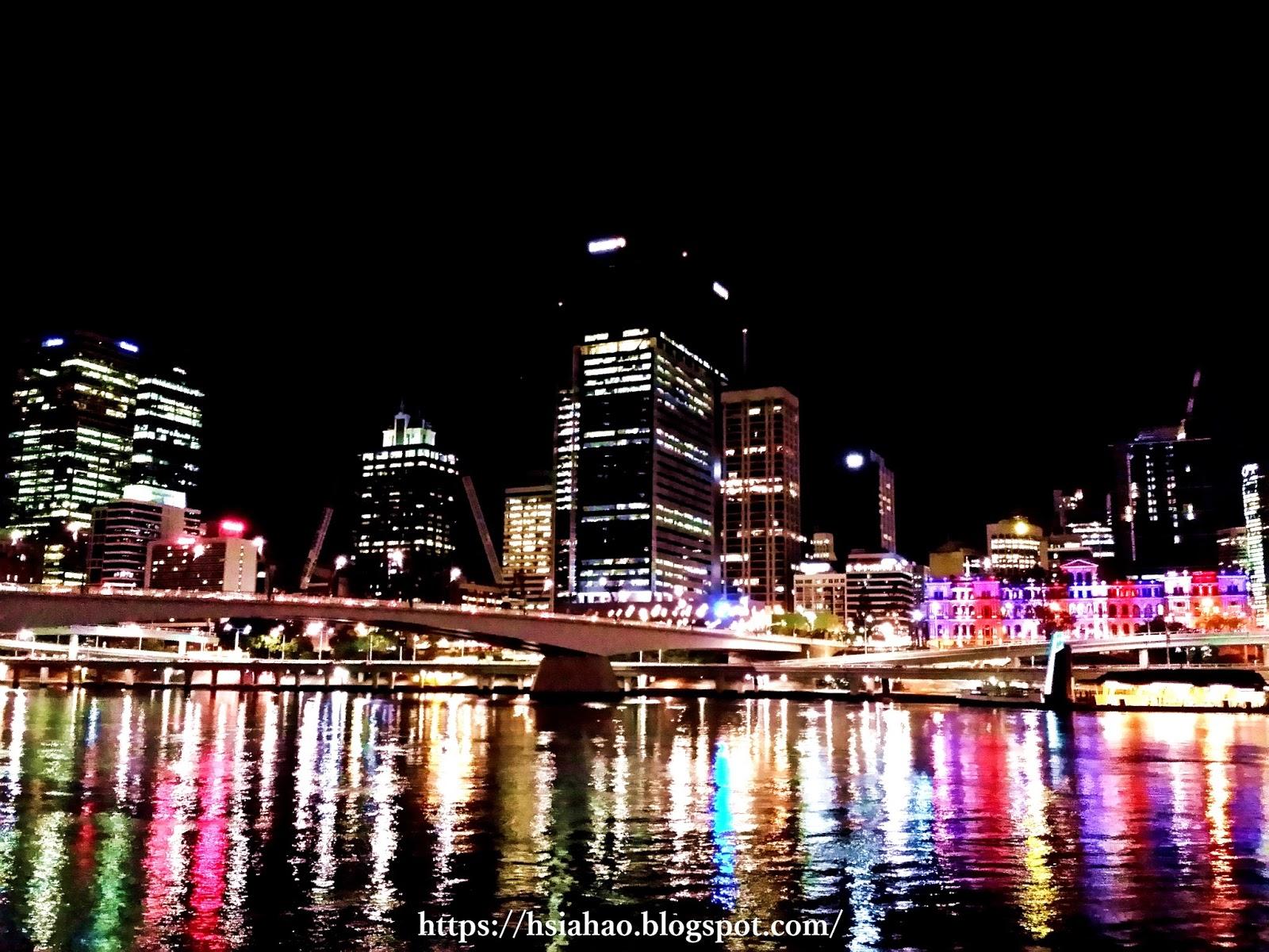 澳洲-布里斯本-夜景-留學-申請-學校-Australia-University-Application