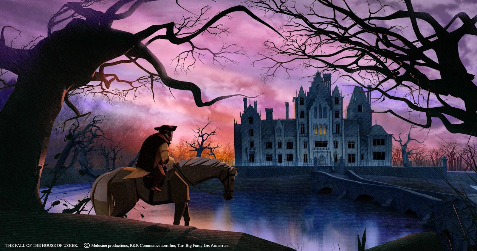 Edgar Allan Poe LA CADA DE LA CASA USHER  THE FALL OF THE HOUSE OF USHER  Los Seores del Edn