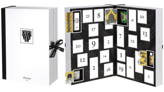 Diptyque beauty Advent calendar 2016 calendrier de l'avent Adventskalender