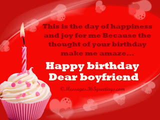 Birthday Messages for Lover in English