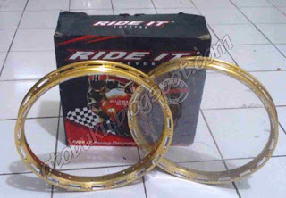 Velg Ride It Warna Emas atau Gold