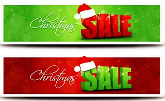 Christmas Sale Banner vector 01