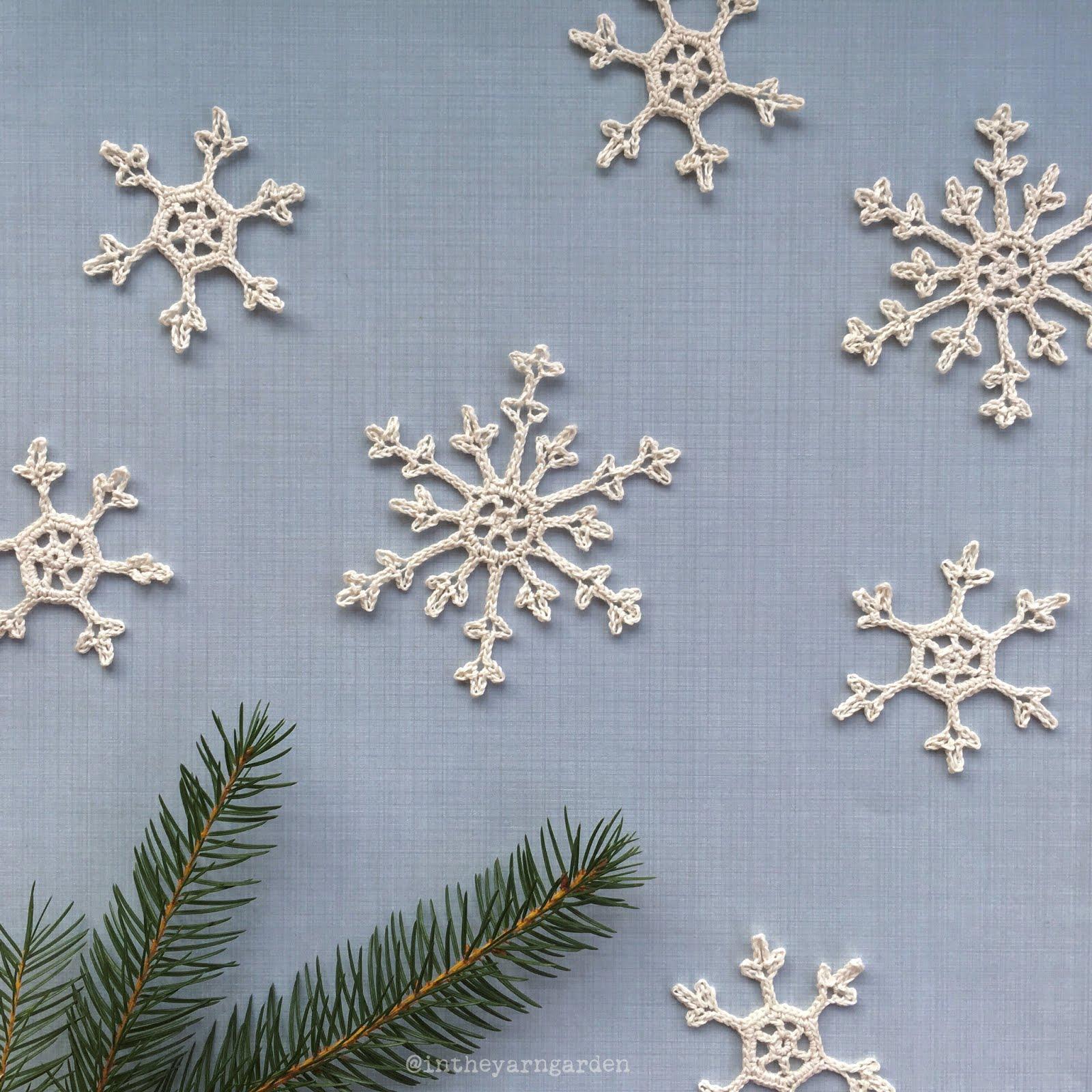 Crochet Snowflake : Crochet snowflakes