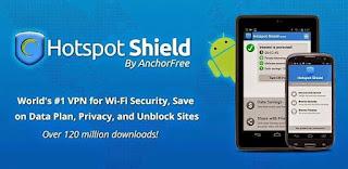 تطبيق Hotspot Shield Vpn Elite نسخة كاملة بدون اعلانات لتشفير اتصالك بالانترنت وفتح المحتوى المحظور