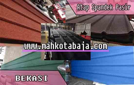 jual atap spandek pasir di Bekasi, harga atap spandek pasir Bekasi, harga atap spandek pasir per meter di Bekasi, harga atap spandek pasir per lembar di Bekasi