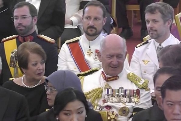 Queen Jetsun Pema, Queen Silvia, Queen Sofia, Maxima, Queen Mathilde, Princess Margaretha, Princess Kiko