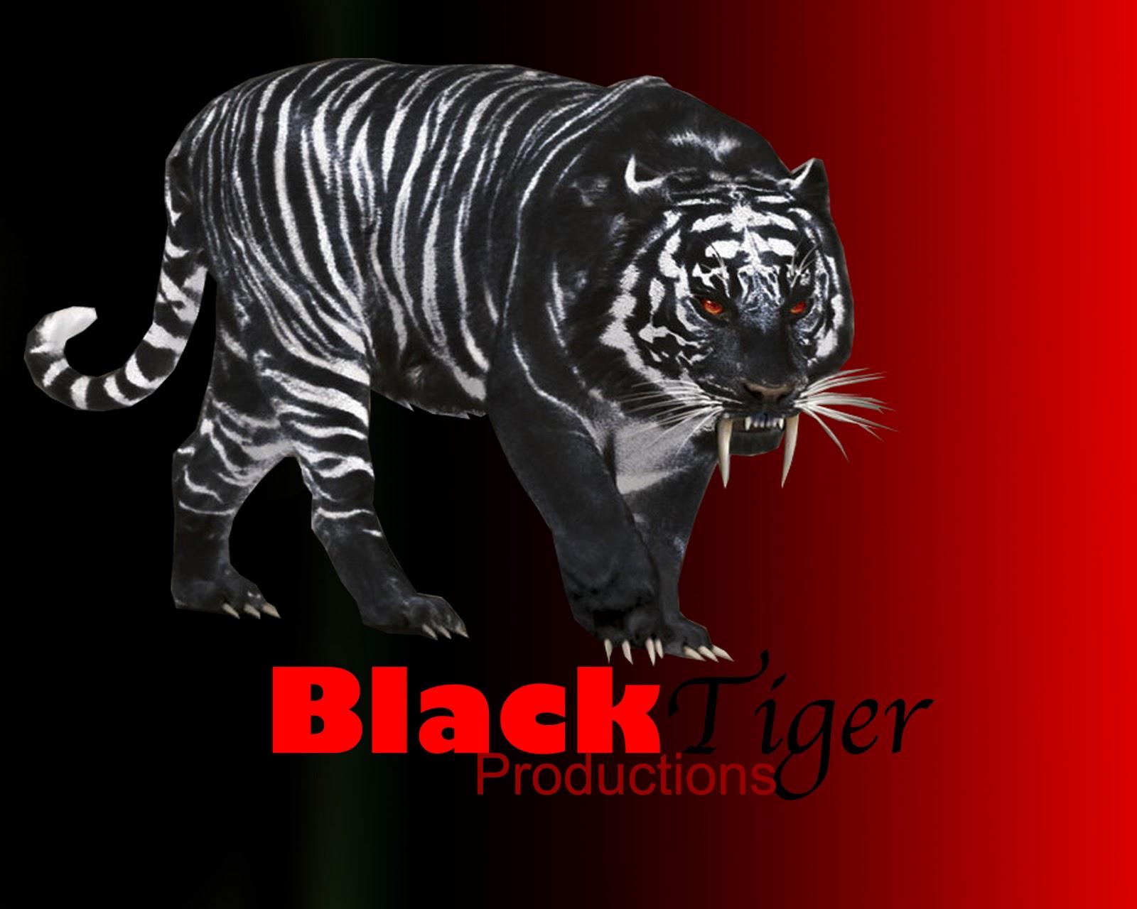 black tiger animal - photo #11
