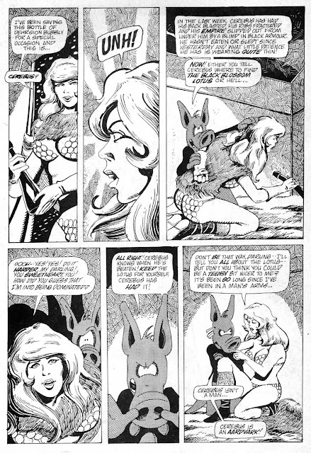 CEREBUS vol 1 p 212 by Dave Sim