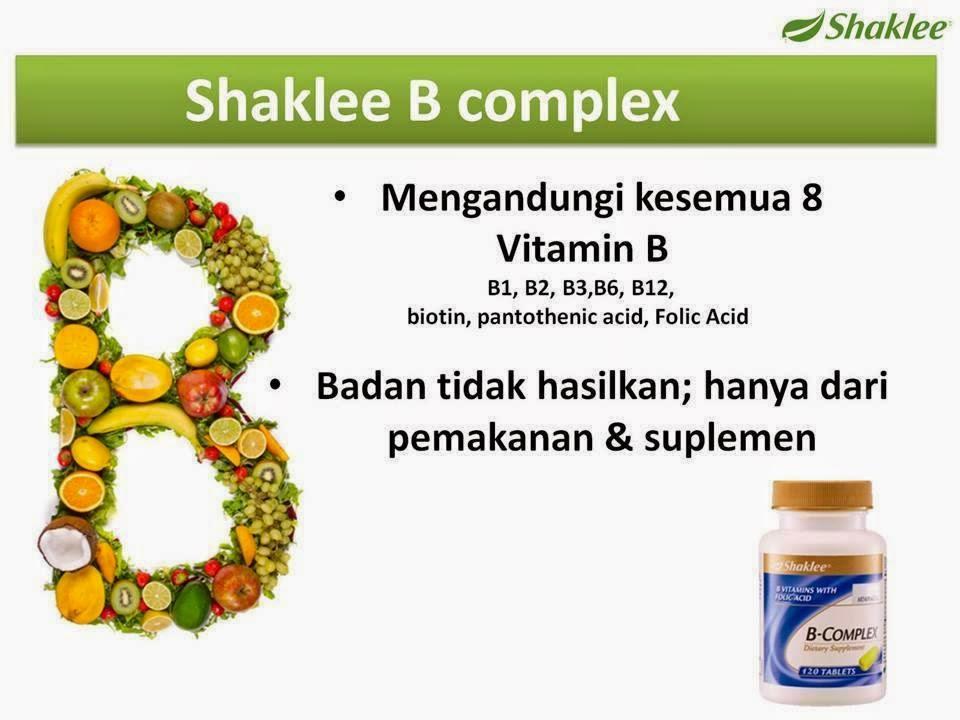 Manfaat Vitamin B kompleks Bagi kesehatan Kita