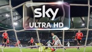 Sky Deutschland : Sky Sport Bundesliga UHD - Astra Frequency