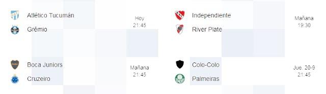 Cuartos de final. Copa Libertadores