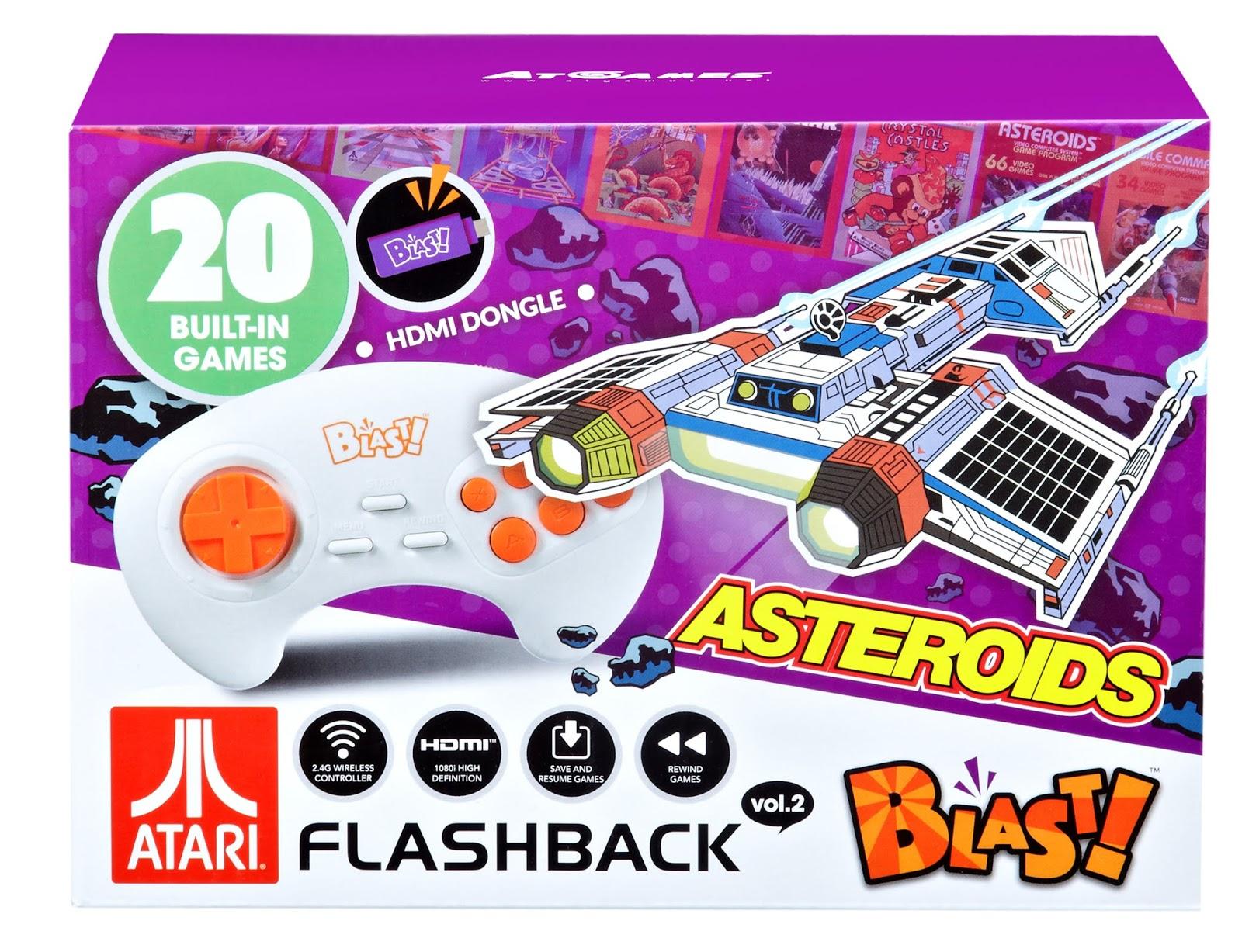 The Edge: AtGames Atari Flashback Blast! Vol. 2