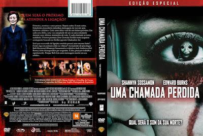 Filme Uma Chamada Perdida (One Missed Call) 2008 DVD Capa