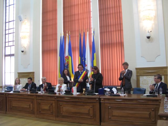 Timisoara si Karlsruhe au serbat 25 de ani de parteneriat intre cele doua orase
