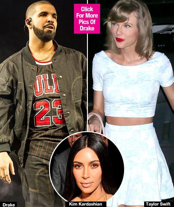 Drake Wants Taylor Swift To 'Ignore' Kim Kardashian's Subtle Diss & Keep 'Shining'