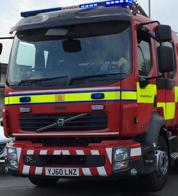 Ten vehicles destroyed in fire at garage on Norcroft Industrial Estate on Norcroft Street, Bradford