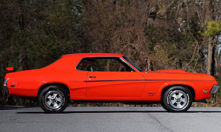 1969 Mercury Cougar Boss 302 Side Right