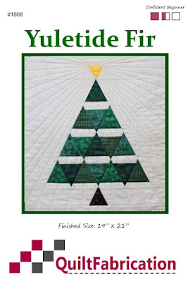 Yuletide Fir Pattern by QuiltFabrication