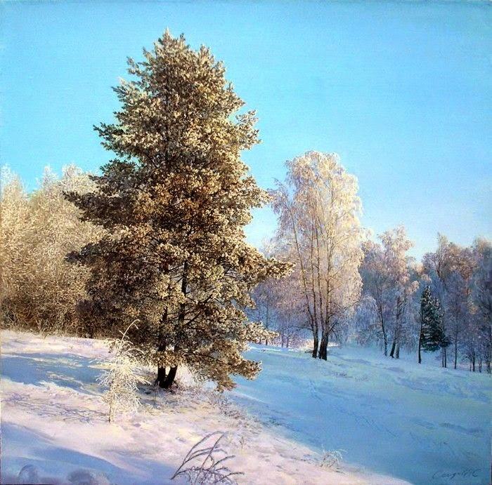 Российский художник. Айдемир Саидов