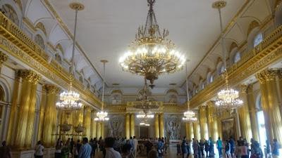 Gran salón Museo Hermitage