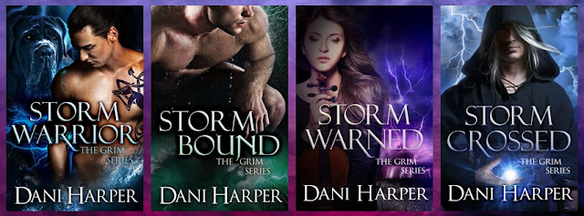paranormal romance, covers, The Grim Series, Dani Harper,