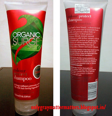 Organic Surge Color Protect Shampoo Review