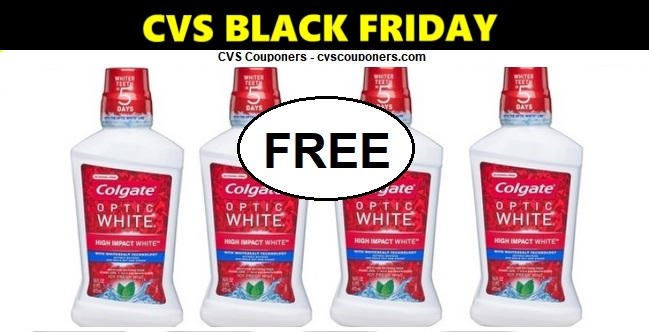 http://www.cvscouponers.com/2018/11/CVS-FREE-Colgate-Mouthwash-Deal-1118-1124.html