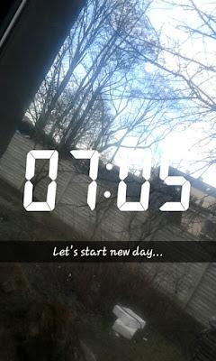 #Ciężkie Poniedziałki  - day with me
