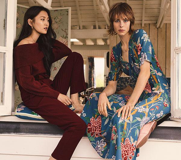 línea moda mujer HM GP & J Baker