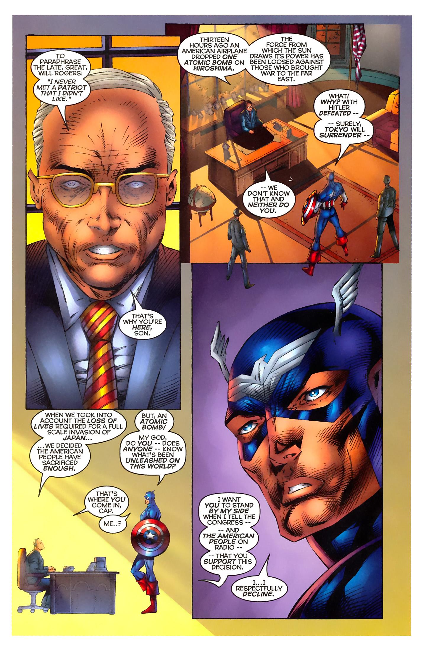 Captain America (1996) Issue #3 #3 - English 4