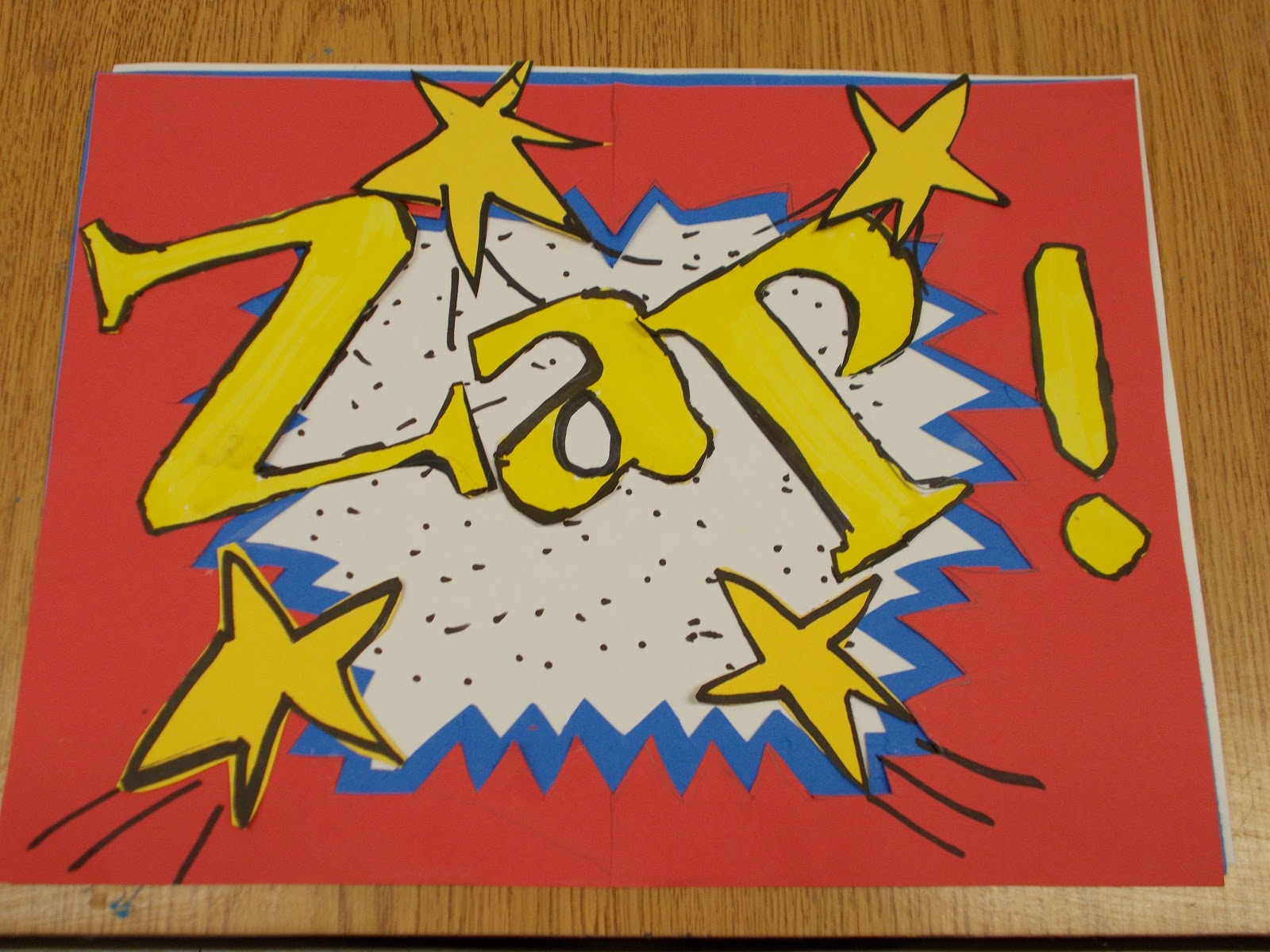 Lichtenstein Pop Art Words