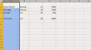 form untuk import data dari excel