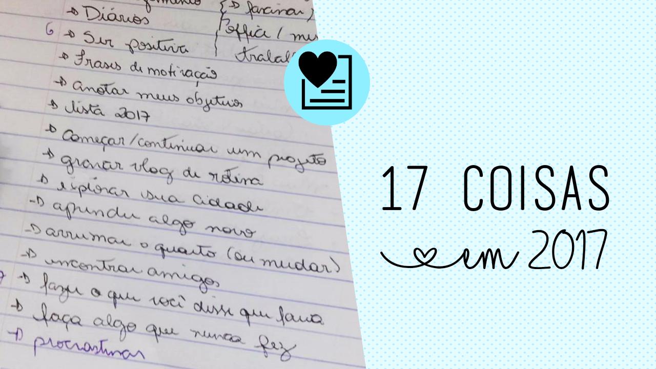 17 coisas para fazer em 2017