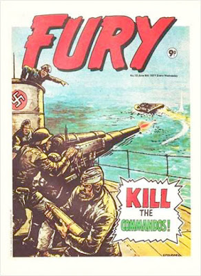 Marvel UK, Fury #13