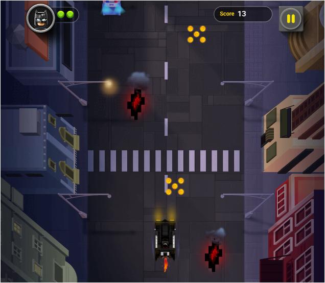 Batman Gotham City Speed Game: LEGO Collecting Game