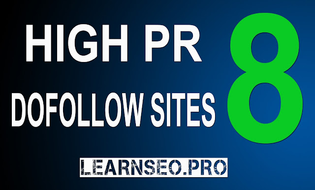 HIGHPR 8 Directory Submission sites