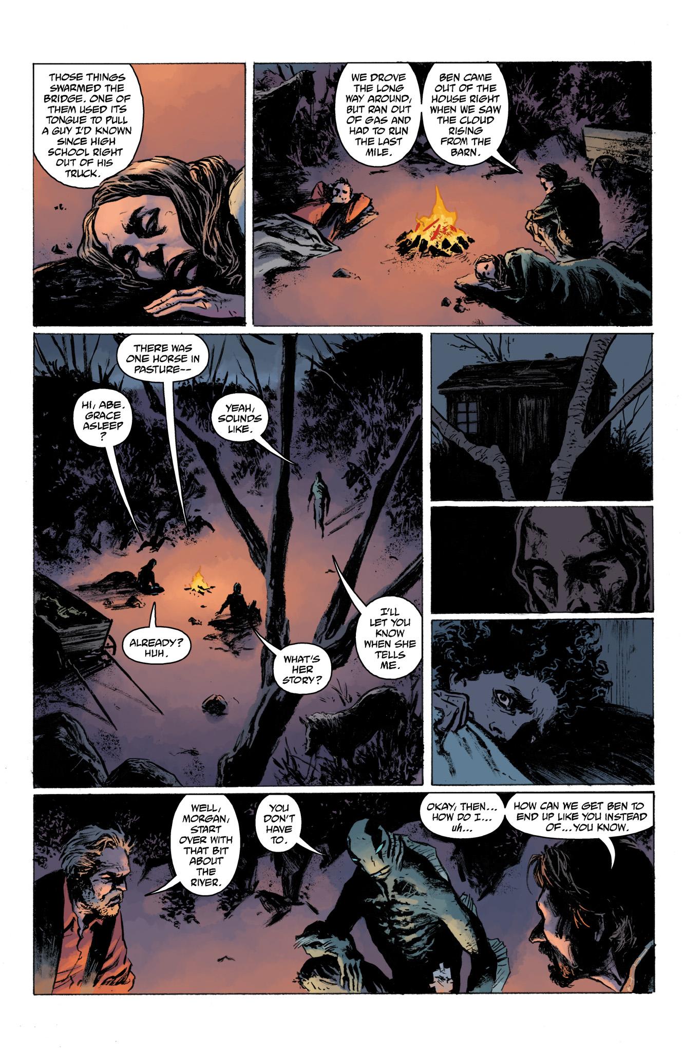 Read online Abe Sapien comic -  Issue #13 - 17