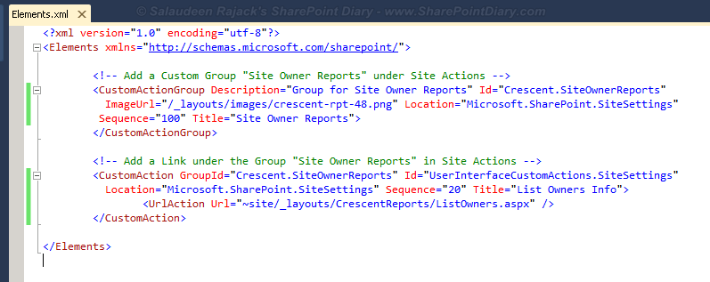 sharepoint 2010 add custom site settings