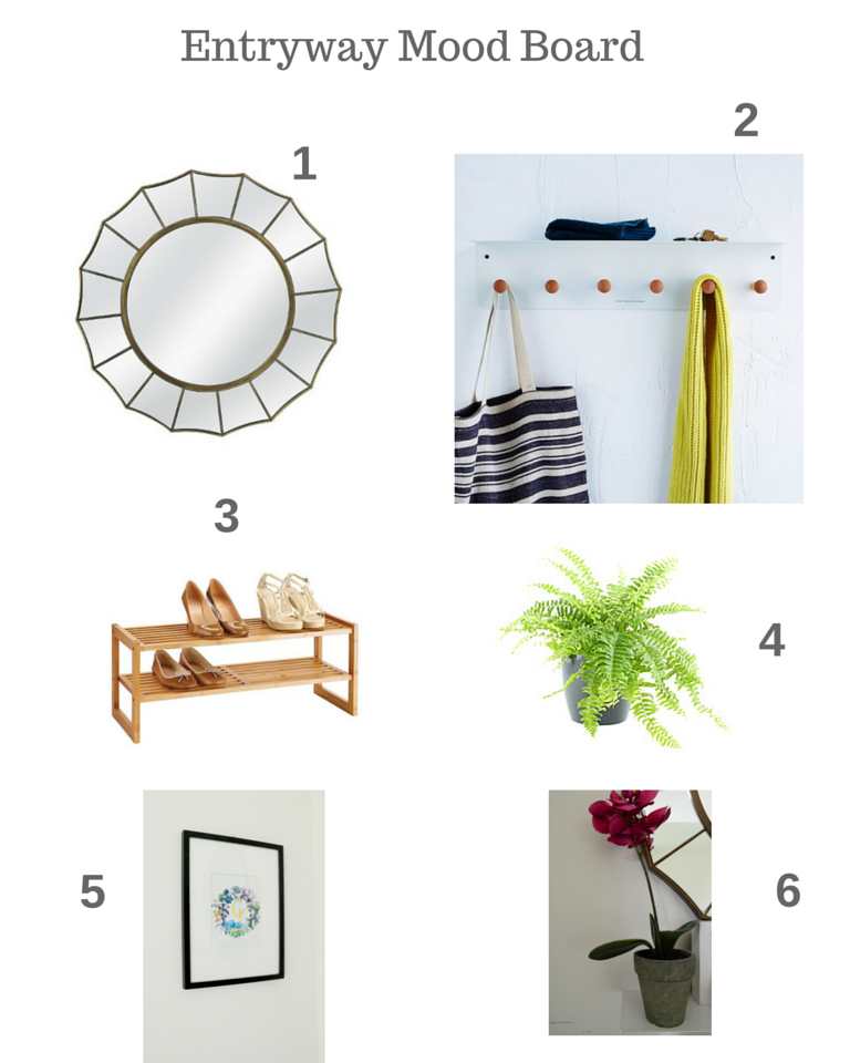 Design Journal Entryway Mood Board
