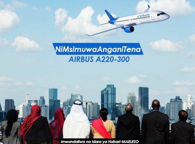 RC Makonda Awahimiza Wananchi Kujiunga Na Rais Magufuli Kuipokea Ndege Ya Sita Ya Serikali Airbus A220-300 LEO Mchana
