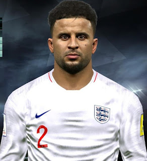 PES 2017 Faces Kyle Walker by Facemaker Huseyn
